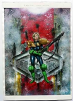 JUDGE ANDERSON / DREDD Comic Art
