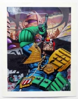 JUDGE DREDD by JIM MURRAY Comic Art