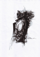 John Constantine by Leonardo Manco Comic Art