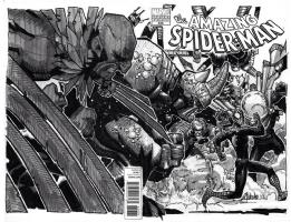 Amazing Spider-man - Spder-man vs Sinister Six - Chris Bachalo, Comic Art