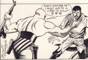 Romano Felmang - A Side Comic Art