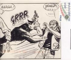 Romano Felmang - B Side Comic Art