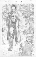 The Punisher (MAX) #49, Pg 22 (Unpublished) By Lan Medina (SOLD!!) Comic Art