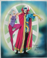 GUICE/AUSTIN - Clea and Dr. Strange (1990s) Comic Art
