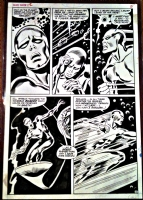 John Buscema Silver Surfer  Comic Art