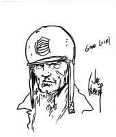 Sgt Rock  Comic Art