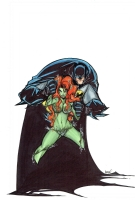 Batman & Poison Ivy by Francisco Herrera  Comic Art