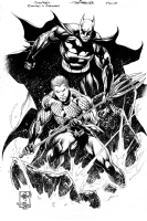 Batman & Aquaman by Ivan Reis  Comic Art