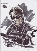 Winter Soldier Comic Art