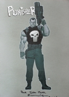 Punisher by Ariel Olivetti Comic Art