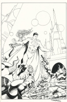 Superman Unchained 5 Cover Barry Kitson Comic Art