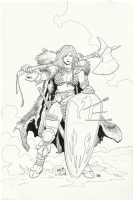 Red Sonja 1 Cover  Frank Cho Comic Art