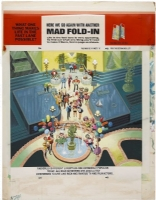Fold-in - Mad Magazine #284 Comic Art