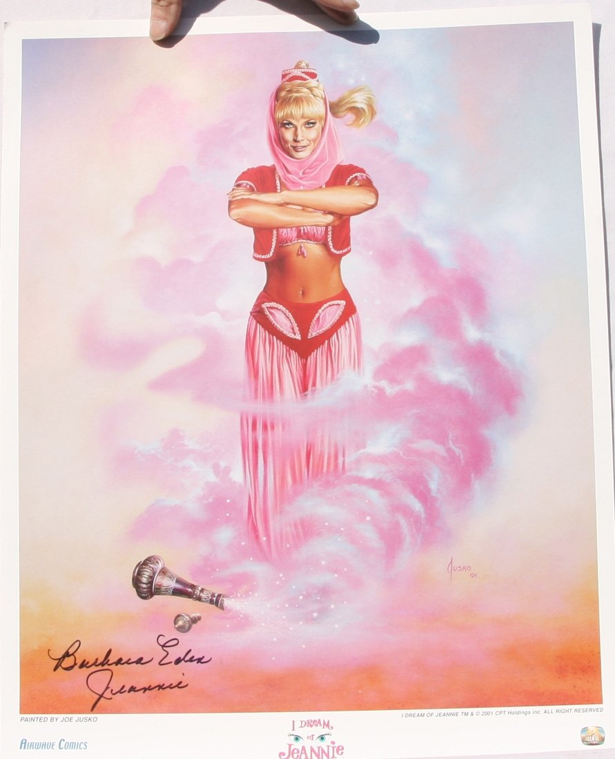 Barbara Eden I Dream Of Jeannie Hot Signed Print
