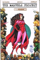 AVENGERS SCARLET WITCH COVER SKETCH ART SIGNED BRIAN KONG, Comic Art