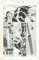 RED SHE-HULK#17 PAGE 9 ORIGINAL ART IAN CHURCHILL/MARK FARMER SIGNED!, Comic Art