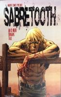 MARVEL COMICS SABERTOOTH PRINT DAN PANOSIAN SIGNED!, Comic Art