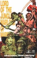 DC COMICS TARZAN & WARLORD PRINT DAN PANOSIAN SIGNED!, Comic Art