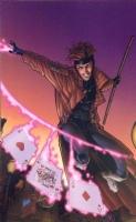 MARVEL COMICS GAMBIT PRINT GEORGES JEANTY SIGNED!, Comic Art