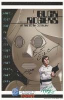 Buck Rogers Print Gil Gerard Felix Silla Rusty Gilligan signed!, Comic Art