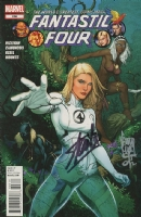 FANTASTIC FOUR #608 signed by Stan Lee and Giuseppe Camuncoli, Comic Art