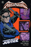DC COMICS OUT OF PRINT NIGHTWING KARL STORY SIGNED!, Comic Art