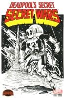 JOE SINNOTT DEADPOOL SKETCH COVER ORIGINAL INK ART SIGNED, Comic Art