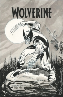 Wolverine inked by Nick Nix 2, Comic Art