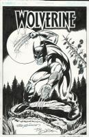 Wolverine inked by Tim Estiloz, Comic Art