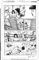Justice League Dark Original Art Page Signed by Walden Wong, Comic Art