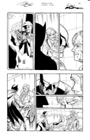 Smallville Original Art Page Co-signed by Marc Deering & Jamal Igle, Comic Art