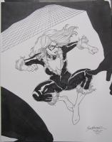Brad Walker - Black Cat (plus bonus Spidey!) Comic Art