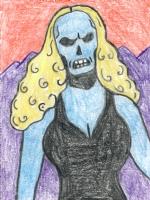 Fantomah (Fletcher Hanks) by ME! (Philip Frey), Comic Art