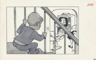 Cracked No. 197, page 28 illustration by Warren Sattler, Comic Art