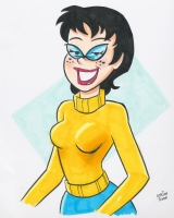 Pepper (Archie Comics' Josie) by Adrian Ropp, Comic Art
