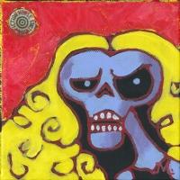 Fantomah (Fletcher Hanks) by Mark Rosenbohm, Comic Art
