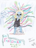 Fantomah (Fletcher Hanks) by Sylvia Griffin, Comic Art