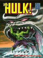 LARKIN, BOB - Rampaging Hulk Magazine #22, Hulk vs sea-monsters 1980 Comic Art