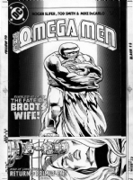SMITH, TOD - Omega Men #13 cover Comic Art