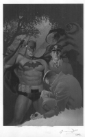 OLIVETTI, ARIEL - Batman: Legends of the Dark Knight #202 cover painting (Clayface) Comic Art