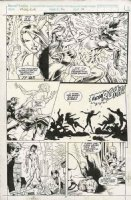DAVIS, ALAN - Excalibur #56 pg 19, Psylocke & team vs brother Jamie Comic Art
