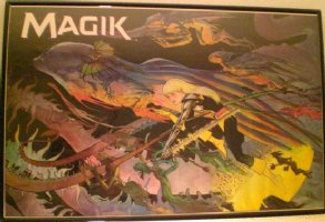 KALUTA, MICHAEL - Magik Marvel Press Poster from 1987 Comic Art