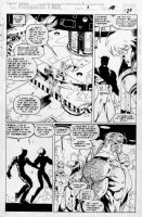 MADUREIRA, JOE - Astonishing XMen #1 pg 23 / #321-1/2, Rogue & Blink, Quicksilver, Sabertooth & Wildchild Comic Art
