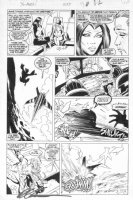 SILVESTRI, MARC - Uncanny X-Men #255 pg 12, Mystique vs Lady Deathstrike Comic Art