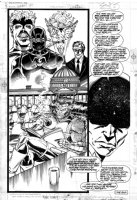 LIEFELD, ROB - What If #7 pg 26, �Wolverine became a SHIELD agent? With Jean Grey transforming into Phoenix! Comic Art