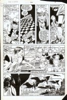 ROMITA JR, JOHN - Uncanny X-Men #187 pg 7, Storm & Forge Comic Art