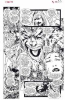 KUBERT, ANDY - X Men #36 pg 27,  Gen Next Part 2, White Queen,  Jubilee, Banshee + 1st Paige/Husk in X-Men Comic Art