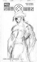 SILVESTRI, MARC - New X-Men #151 cover prelim, solo Wolverine - 1st in Grant Morrison series Comic Art