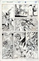 MADUREIRA, JOE - Excalibur #57 pg 19, 1st X-Men story - mad Wolverine vs X-Men Comic Art
