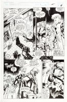 MADUREIRA, JOE - Astonishing XMen #1 pg 4 / #321-1/2, Magneto, Blink, Quicksilver, Sabertooth & Wildchild Comic Art